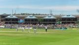 A very sunny cricketgame